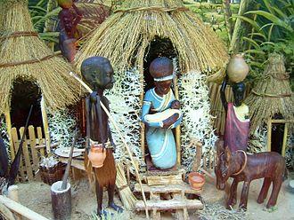 Un presepio africano