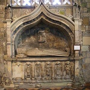 Archibald Douglas, 5th Earl of Douglas - Image: St Bride's Church Douglas Archibald