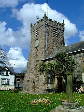 Listed buildings in Poulton-le-Fylde - Image: St Chad's church geograph.org.uk 782539