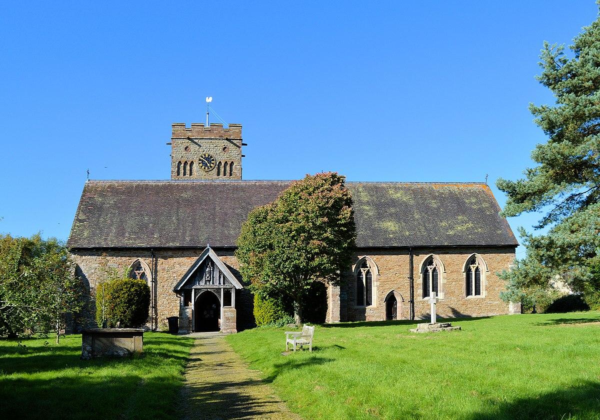 St Cuthbert's Church, Clungunford.jpg