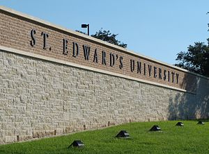 St. Edward's University - Main entrance