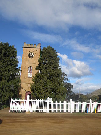 Richmond, Tasmania - Image: St Luke Anglican Church Irena Harrison