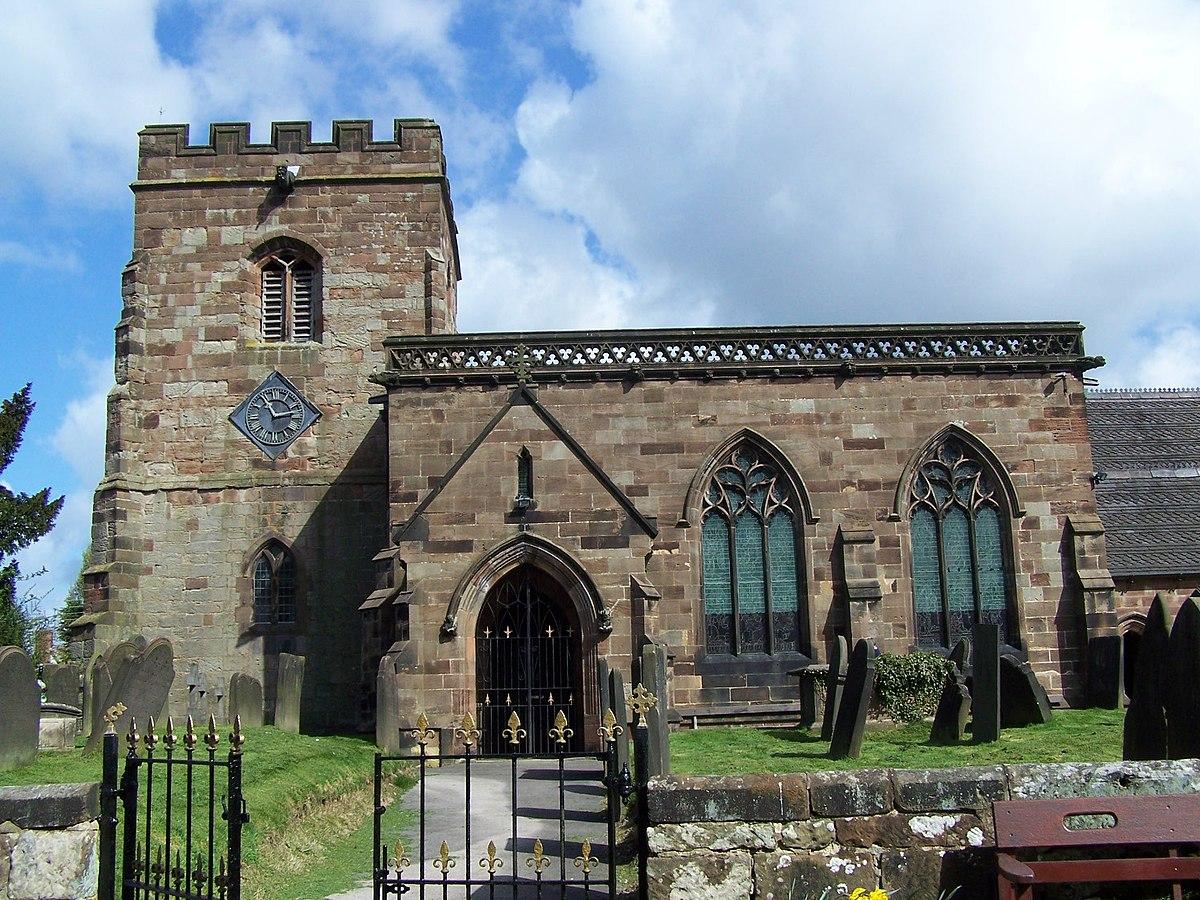St Margaret, Draycott-In-The-Moors (geograph 2354674).jpg