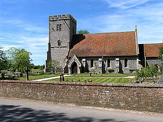 Compton, Berkshire - Image: St Mary's and St Nicholas, Compton geograph.org.uk 20753