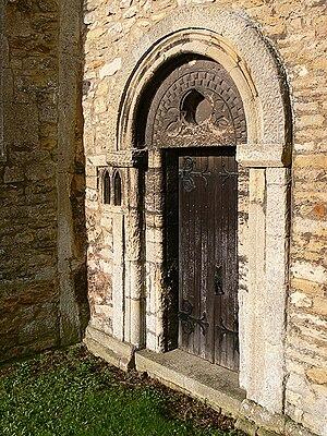 Little Bytham - Image: St Medard's Priest's Door
