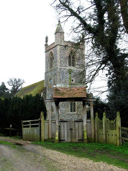 File:St Peter, Ketteringham, Norfolk - geograph.org.uk - 313633.jpg