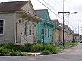 St Peter Street row of houses New Orleans.jpg
