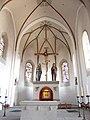 St Peter und Paul, Oberstaufen Choraum mit Zelebrationsaltar.JPG