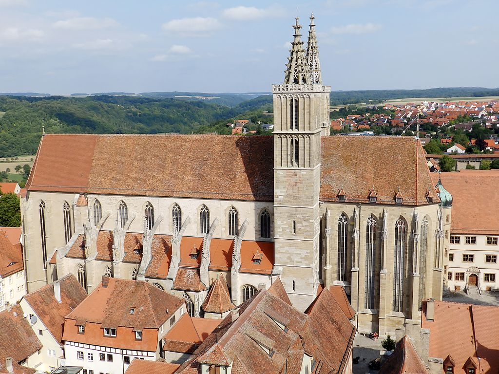 Stadtkirche St. Jakob in Rothenburg