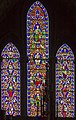 Stained glass window, Worcester Cathedral (20463923260).jpg
