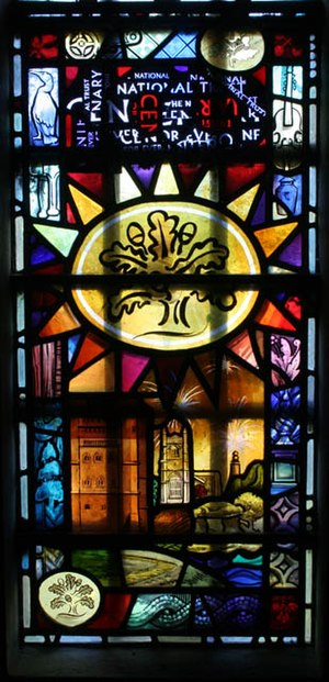 Stained glass - Image: Stained glass window geograph.org.uk 1461459