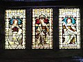 Stained glass windows in Tron Kirk.JPG