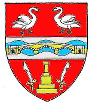 Staines Urban District - Arms of Staines Urban District Council