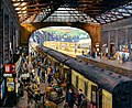 Stanhope Forbes The Terminus, Penzance Station, Cornwall 1925.jpg