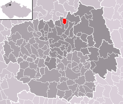 Location of Staňkovice