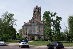 The Starke County Courthouse in Knox is listed on the National Register of Historic Places