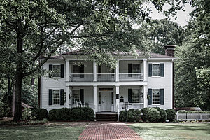 National Register of Historic Places listings in Clayton County, Georgia - Image: Stately Oaks