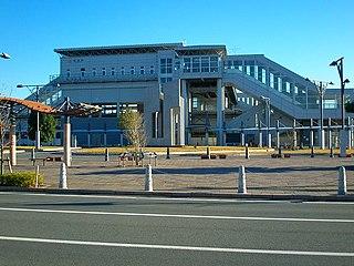 Aino Station (Shizuoka) railway station in Fukuroi, Shizuoka prefecture, Japan