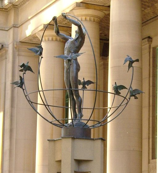 Statue outside Union Station