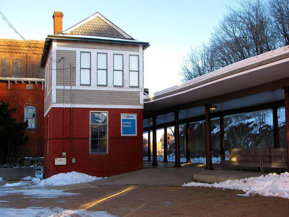 Staunton Amtrak station
