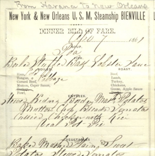 Steamship Bienville on-board restaurant menu (April 7, 1861).jpg