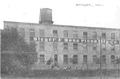 Image of one of the Steger & Sons Mfg. Co. buildings