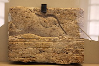 Stele of an offering of a veal-MAHG 23476