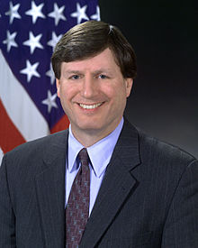 Stephen Cambone, official DoD photo portrait, 2003.jpg