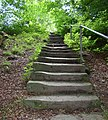 Steps on footpath to Canford Drive, Allerton, Bradford - geograph.org.uk - 490239.jpg