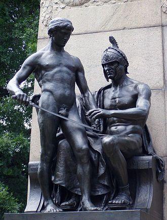 The Ellipse - Baron von Steuben Monument by Albert Jaegers