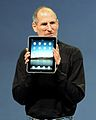 Steve Jobs with the Apple iPad no logo (cropped).jpg