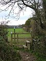 Stile on the Erme-Plym trail - geograph.org.uk - 279507.jpg
