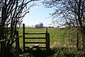 Stile on the Footpath to Rowland's Green. - geograph.org.uk - 390417.jpg