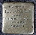 Stolperstein Badstr 58 (Gesbr) Ilse Barkowsky.jpg