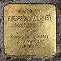 Stolperstein Bayreuther Str 42 (Schön) Siegfried Werner Hausdorff.jpg