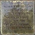 Stolperstein Herch Rubinstein 31 rue Cuvier Fontenay Bois 2.jpg