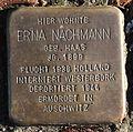 Stolperstein Karlsruhe Erna Nachmann Reinhold-Frank-Str 24 (fcm).jpg