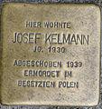 Stolperstein Remscheid Bismarckstraße 60 Josef Kelmann.jpg