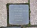 Stolperstein Salomon Buchheim, 1, Fritz-Appel-Straße 8, Bad Wildungen, Landkreis Waldeck-Frankenberg.jpg