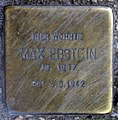 Stolperstein Weichselstr 28 (Neuk) Max Ebstein.jpg