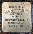 Stolperstein Wendenschloßstr 172 (Köpen) Clara Ehrmann.jpg