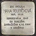 Stolperstein für Hana Roubickova.jpg