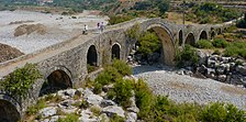 Stone bridge in the Albanian Mes.jpg