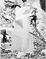 Stone quarry showing man drilling rock, Index, ca 1910 (PICKETT 17).jpeg