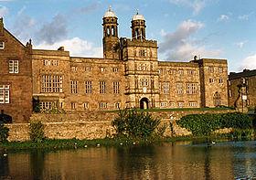 The West Front of Stonyhurst College, Lancashire