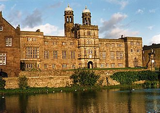 Stonyhurst College - The front of Stonyhurst College