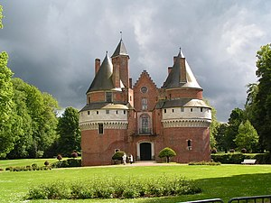 Château de Rambures - Château de Rambures.