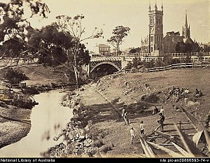 Strathalbyn, South Australia - Strathalbyn circa 1869