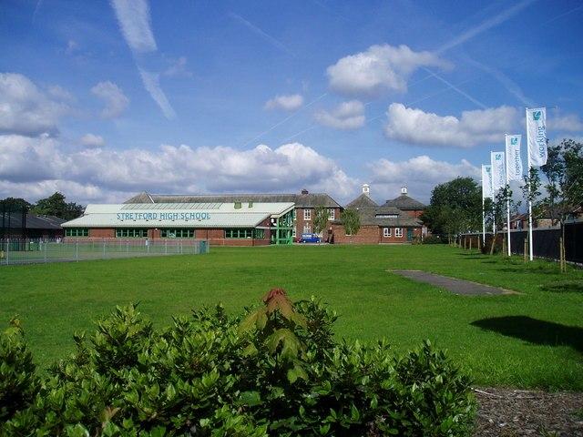 Stretford High School - geograph.org.uk - 511044
