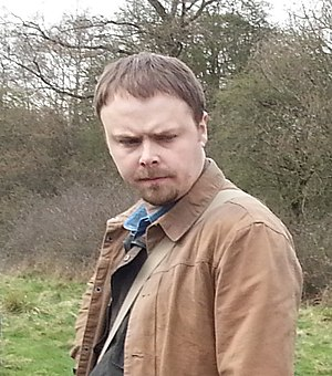 Stuart Ashen - Ashen on the set of Ashens and The Quest For The Game Child